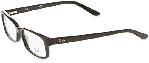 Ray-Ban RAYBAN Unisex-Erwachsene Brillengestell 5187, Schwarz (Negro), 50