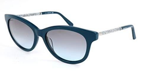 Swarovski sunglasses sk0132 98b-56-17-140, occhiali da sole donna, blu (blau) 56