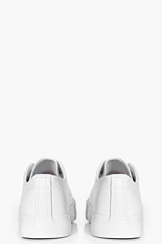 Damen Weiß Gracie Turnschuhe Zum Schnüren Weiß