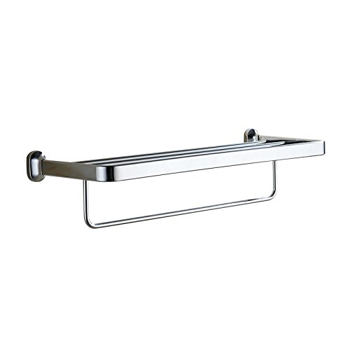Etmla portasciugamani portasciugamani completo di accessori per il bagno in metallo cromato