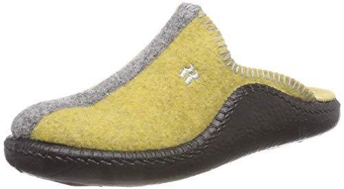 Romika Unisex-Erwachsene Mokasso 62 Pantoffeln, Gelb-Kombi 801, 39 EU