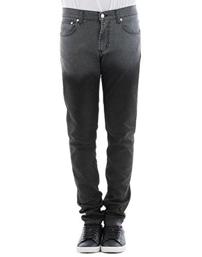 Alexander Mcqueen Jeans (Alexander Mcqueen Herren 471423Qky471201 Grau Baumwolle Jeans)