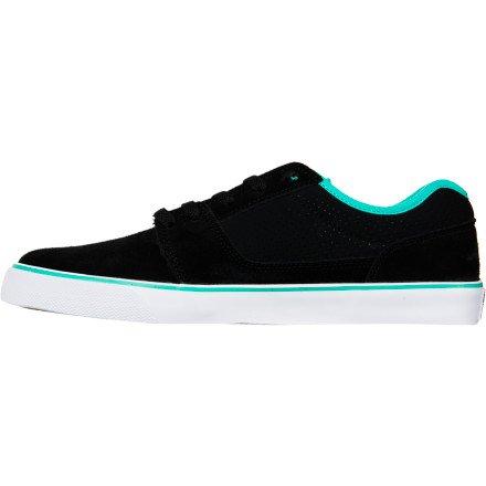 DC, Baskets Mode für Herren Black/Turquoise