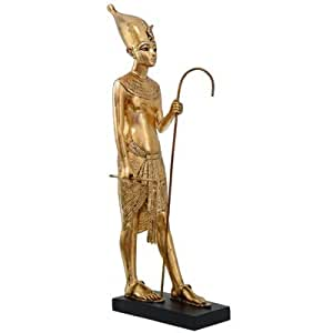 Golden Pharaoh Standing - Large Egyptian Ornament