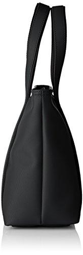 Lacoste NF2042WM, Borsa a Tracolla Donna, 32 x 12 x 22 cm Nero (Black)