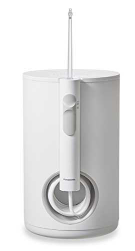 Panasonic EW1611W503 - Irrigador oral de gran capacidad con tecnología ultrasonica, color blanco