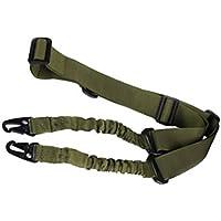 Protectora CS Seguridad Nylon Sling estándar Ajustable de Dos Puntos Extremos de la Cuerda al Aire Libre Deportes Bungee Strap Regard