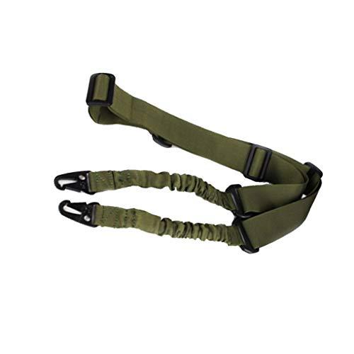 Junecat Schutz CS Sicherheit Nylon-Riemen-Standard-Adjustable Zwei-Punkt-Seil Extremer Sport im Freien Bungee Strap -