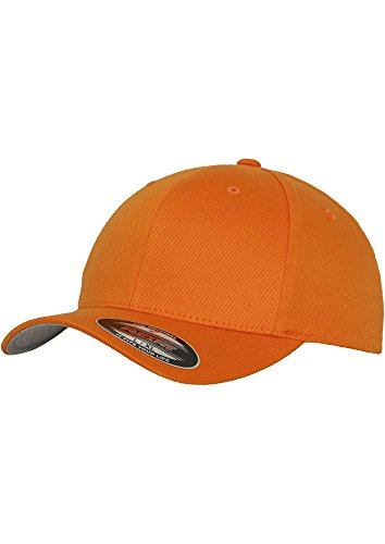 MasterDis Baseball Cap Flexfit Orange, Orange, S/M
