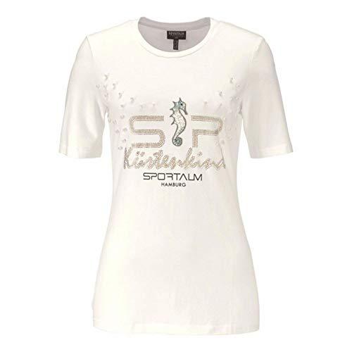 Sportalm Kitzbühel Damen T-Shirt Lina Hamburg Weiß Gr 38
