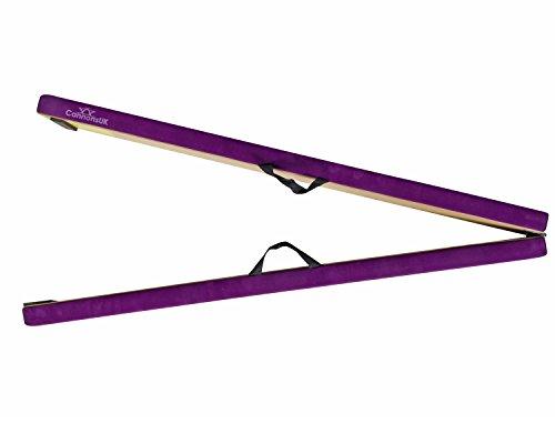 Cannons UK Mädchen zusammenklappbar gymnastikbalken M violett