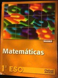 Eso 1 - Matematicas - Adarve