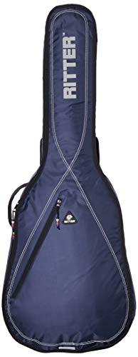 Ritter RGP2-C 4/4 CLAS - Funda/estuche para guitarra acustica-clasica, con tejido repelente al agua, color azul