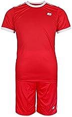 Vector X Football Set (T-Shirt & Short) VFS-002-B (Red)