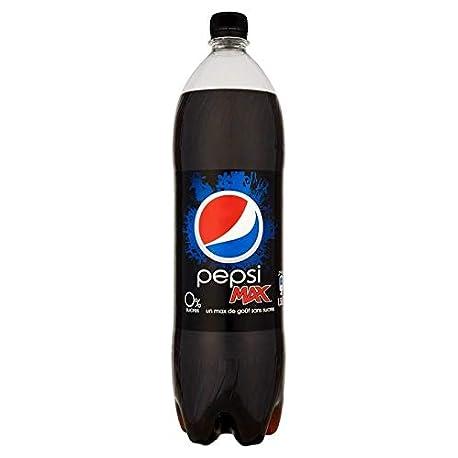 Pepsi Max 1 5L lot de 12
