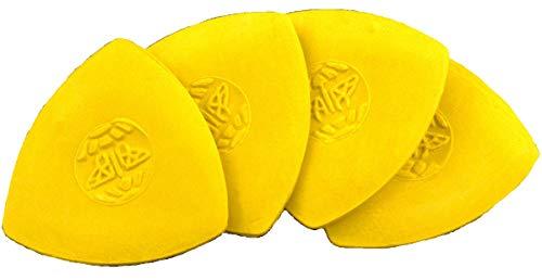 UMTMedia® Schneiderkreide - gelbe Stoffmarkierungen, Schneidermarkierungen (4 Stück)