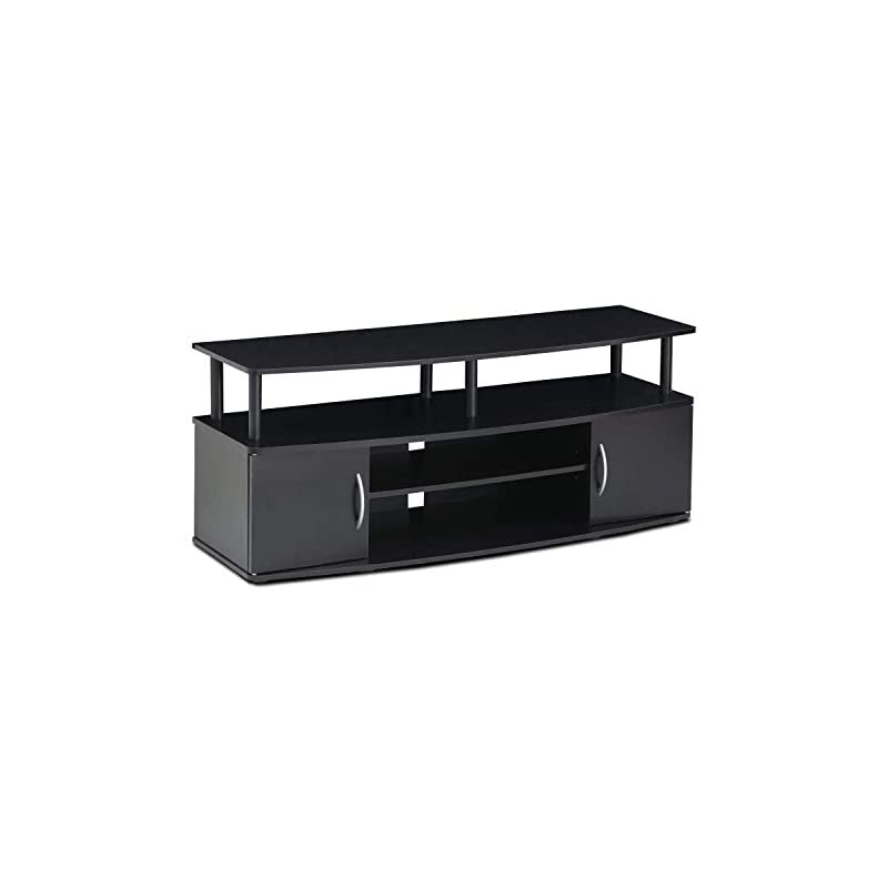 Furinno Coffee Tables, Wood, Black, one Size