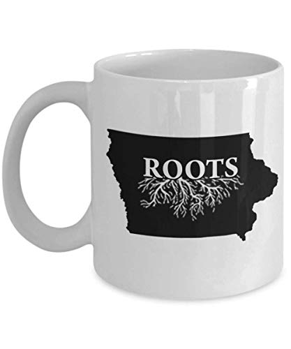 Home Roots State Iowa Coffee Mug Tea Cup -