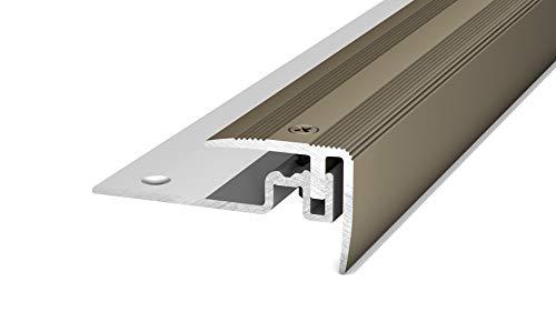 Treppenkantenprofil Alu PS 400 edelstahl matt 30x25x1000mm