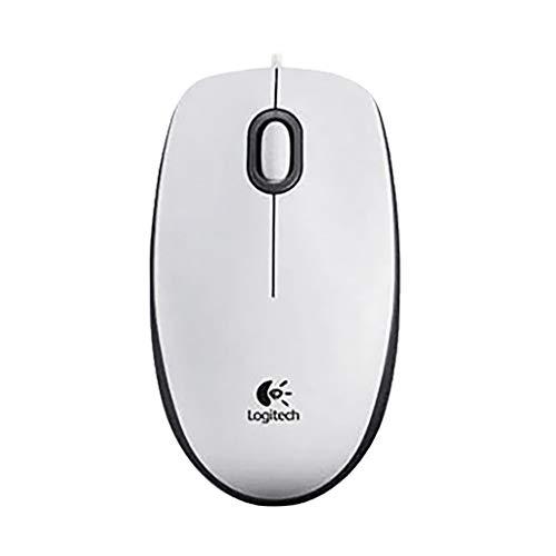 Altsommer Kabelgebundene Maus - Logitech Mäuse für M100R 1000DPI Optische mit USB Kabel Maus für Computer und Laptops, für die Rechte oder Linke Hand Ergonomische Tragbare Büro, Schwarz -