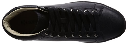 Superga 4531-bycu, Pompes à plateforme plate mixte adulte FULL BLACK