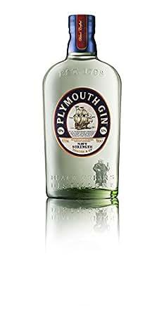 Plymouth Navy Strength Gin – Hochprozentiger Dry Gin mit dezenter Wacholdernote & ausgewogenen Zitrusaromen – Für experimentierfreudige Genießer & passionierte Bartender – 1 x 0,7 L