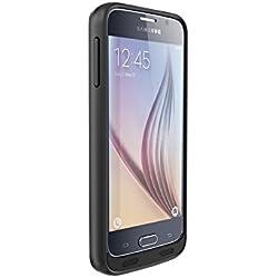 MOTA MT-SG6B Coque avec batterie supplémentaire pour Samsung S6 Noir