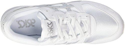 Asics Gel-Lyte, Scarpe da Ginnastica Basse Unisex-Adulto Bianco (White/glacier Grey)