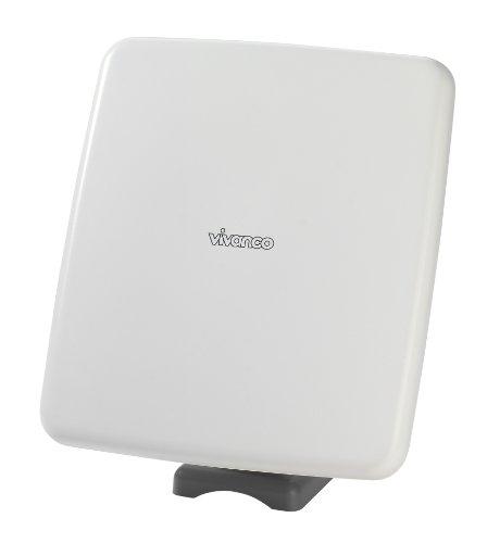 Vivanco TVA 501 Außenantenne für TV/Radio (48 dB, Multi-Directional) weiß