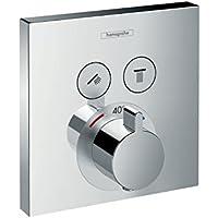 hansgrohe ShowerSelect Unterputz Thermostat, 2 Verbraucher, chrom