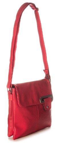 Big Handbag Shop - Borsa a tracolla donna Light Beige