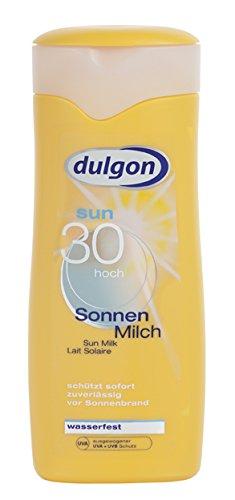 Preisvergleich Produktbild dulgon Sonnenmilch LSF 30 - wasserfest 250ml