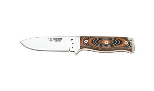 Cudeman Survival Messer Rot-Schwarzer Micarta mit Rotem Liner, Klingenlänge: 11 cm, CUDM-1044