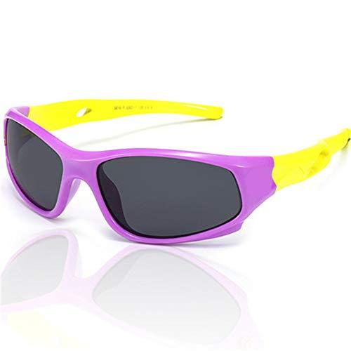Wang-RX Kinder Sonnenbrille Polarisierte Jungen Mädchen Kinder Baby Sport Sonnenbrille Sicherheit Beschichtung Sonnenbrille BrillenUV400