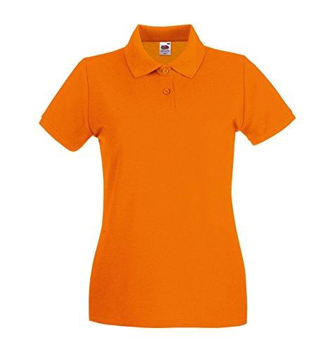 Polo Femme de Haute Qualité Lady-fit Orange
