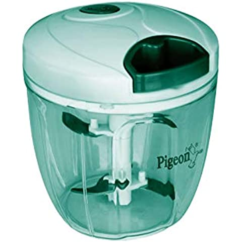 Pigeon by Stovekraft Handy and Compact Chopper XL with 3 blades for effortlessly chopping vegetables and fruits for your kitchen