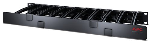 APC 1U Horizontal Cable Manager 6 deep Single Side -