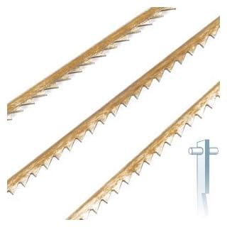 12 Stück Dekupiersägeblatt Standard mit Stift, alle Maschinen 10 TPI