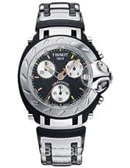 Tissot T0114171205100 - Reloj cronógrafo de caballero de cuarzo con correa de acero inoxidable plateada