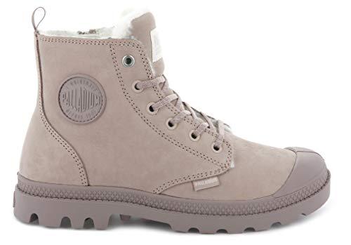 Palladium Weiblich Pampa Hi Zip WL Leather Boots, Rose Dust-fawn (95982-671), 41.5 EU - Boot-fawn