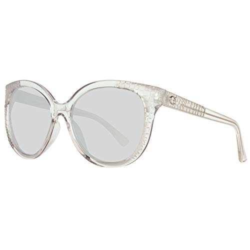 Guess Damen Gu7402 26C 57 Sonnenbrille, Transparent