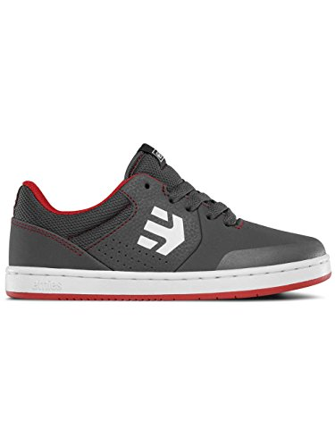 Etnies Kids Marana, Scarpe da Skateboard Unisex – Bambini, Black GREY/RED/WHITE