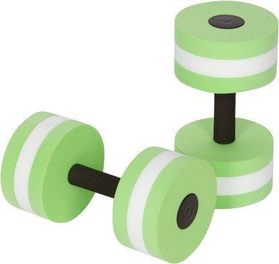 Bigboss sport acquatici esercizi manubri acquagym bilancieri Exercise Hand bars–Set di 2–per aerobica in acqua, green