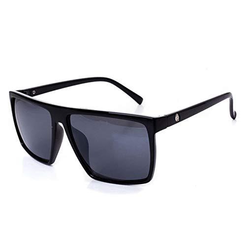 SKCLBOOS Sonnenbrillen Emosnia Mens Steampunk Sonnenbrille Männer Retro Coole Quadratische Punk Sonnenbrille mit Neue Ankunft 2019 SCHÄDEL Logo Vintage Eyewear UV400