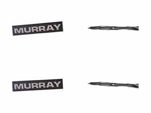 Superscharf ,mein Mulch + Seitenauswurf Messersatz 2Stk. passend für 102cm (40 Zoll) MURRAY Mähwerke , da macht das mähen wieder richtig Spass.