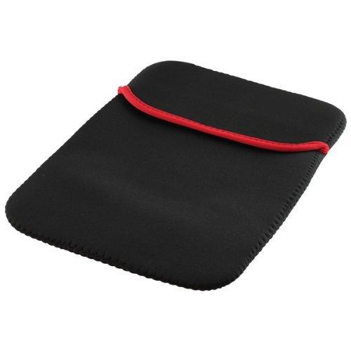 Tablet PC bzw. Notebook Tasche Schutz Hülle Case Sleeve Etui schwarz-rot passend für Xoro Pad 900 (500-10-ne-swrt)