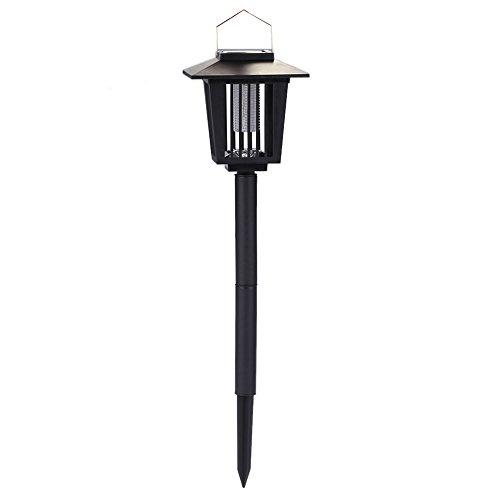 Docooler lámpara antimosquitos Solar y batería, sensor de luz Control, 0.1W 20LM