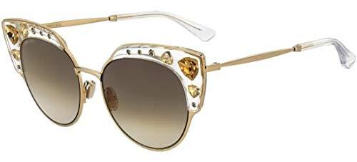 Jimmy Choo Sonnenbrillen AUDREY/S GOLD/BROWN SHADED Damenbrillen