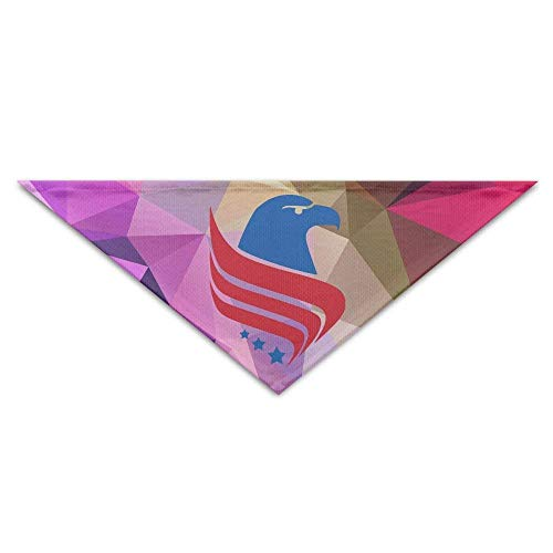 Sdltkhy The USA Eagle Triangle Pet Scarf Dog Bandana Pet Collars Dog Cat - Birthday
