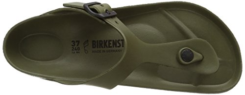 Birkenstock Gizeh Eva, Heels Sandals Donna Verde (Khaki)